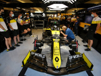 2020 F1 Renault F1 Team RS20