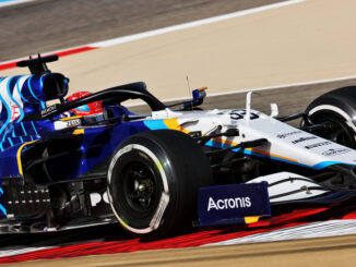 F1 2021 Williams Bahrein George Russell