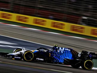 F1 2021 Williams Racing Bahrein