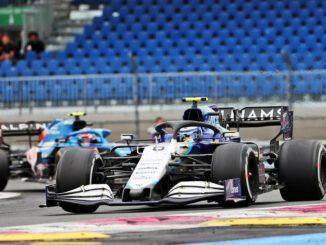 F1 2021 George Russell (GBR) Williams Racing FW43B. French Grand Prix