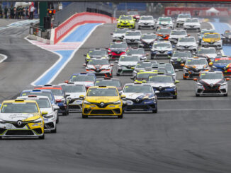 6th round of the Clio Cup Europe