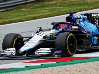 F1 2021 George Russell (GBR) Williams Racing