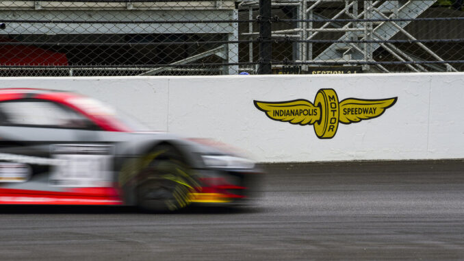 2021 Audi R8 LMS Indianapolis 8 Hour Intercontinental GT Challenge